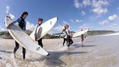 vista previa del artículo Iniciación al surf en la playa de Famara
