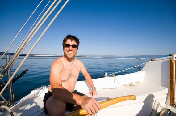navegando por las aguas canarias