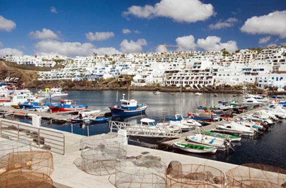 Puerto del Carmen en Lanzarote