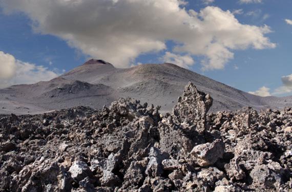 Volcán en Lanzarote