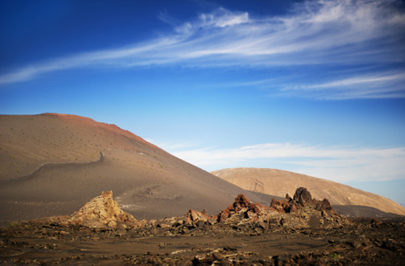 Terreno volcánico