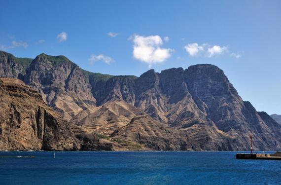 Acantilado en Gran Canaria