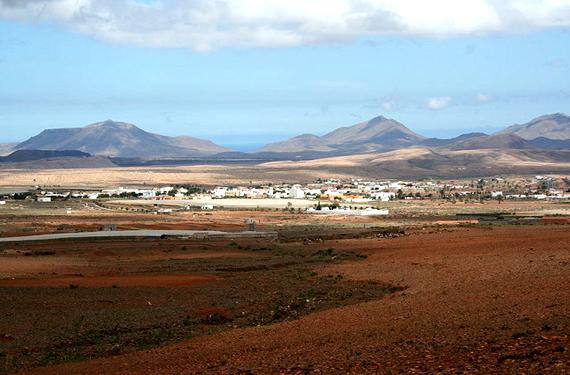 Vista de Tuineje