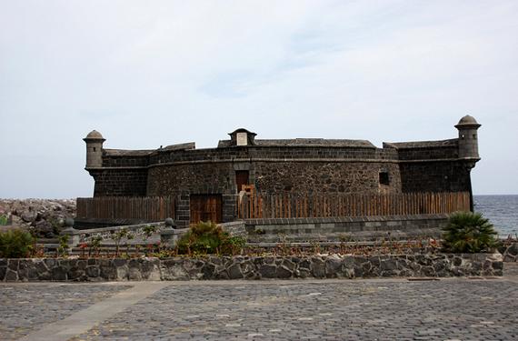 Castillo en Santa Cruz de Tenerife