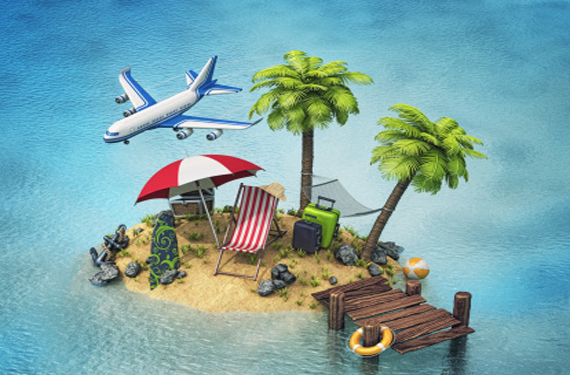 Isla de vacaciones
