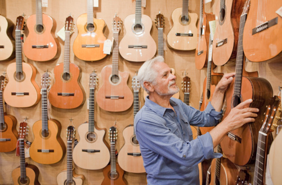 Vendedor de guitarras